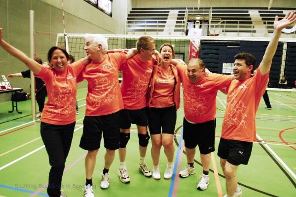 Internationaal Bechterew Volleybaltoernooi Utrecht 2015